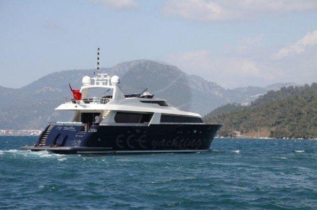 M/Y TUTKU Teknesi