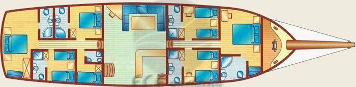 PALMYRA Yat Planı