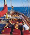 Paluko teknesi güverte