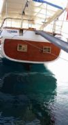 Tesero Yacht, Clear Waters.